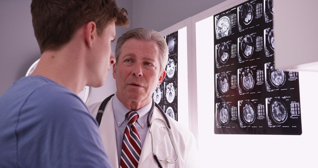 a neurologist working
