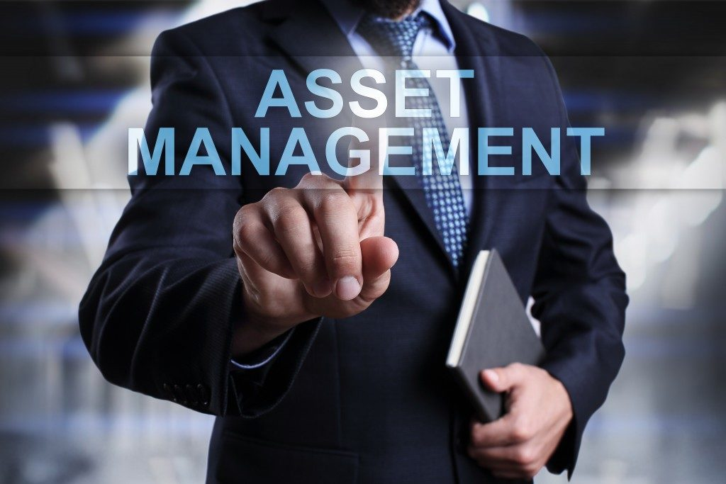business asset management concept