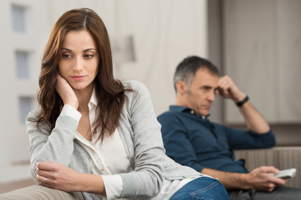 family conflict in partners