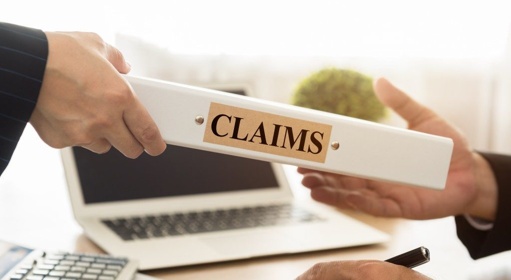 Filing for compensation claim